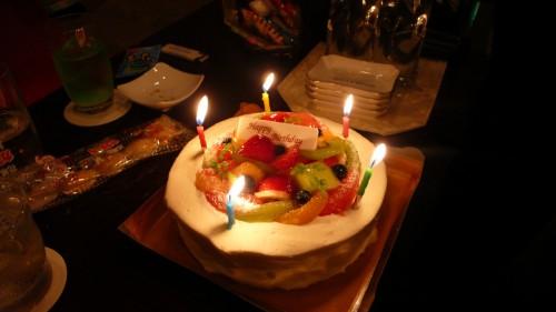 ママさんからのケーキ