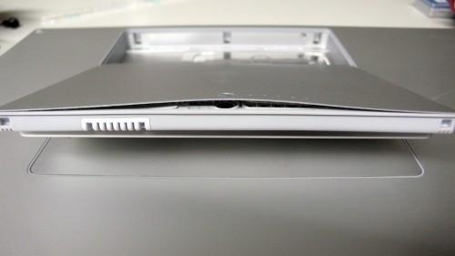 MacBook Proの膨れあがったバッテリー
